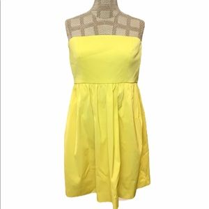 J. Crew Claudine Dress Yellow Size 12 Petite